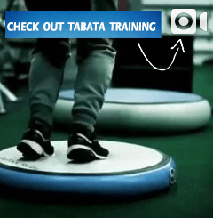 Tabata Training on an AirSpot