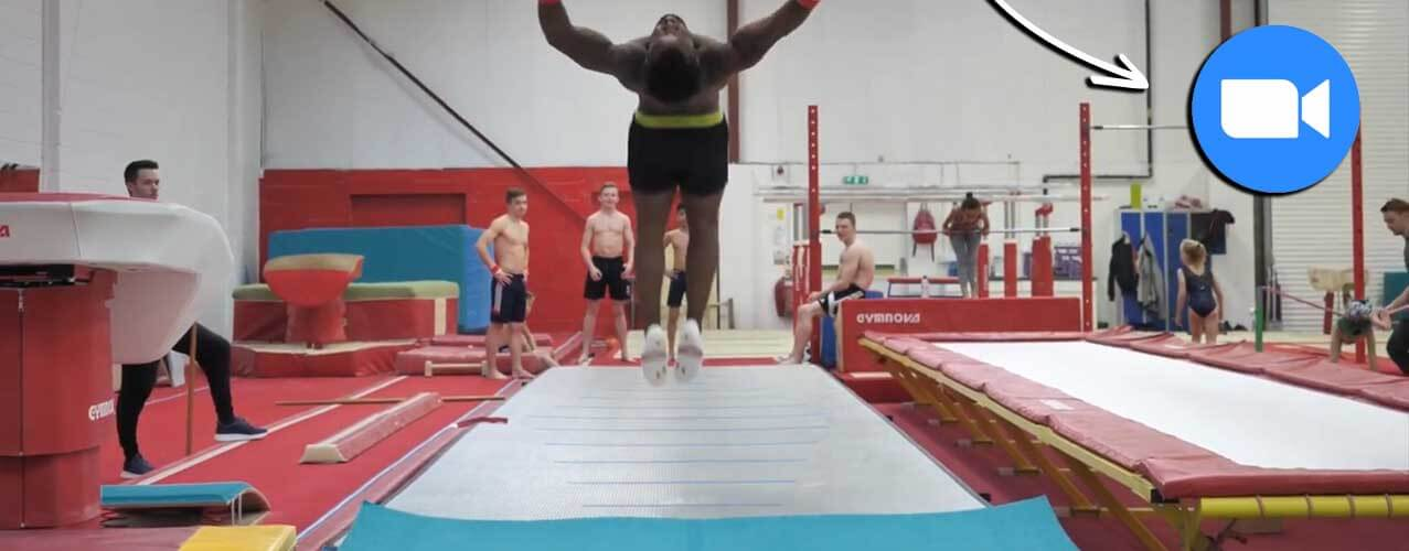 Courtney Tulloch using AirFloor