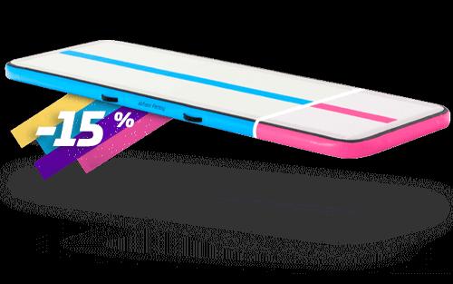 Air Track Gymnastics Mat Pink